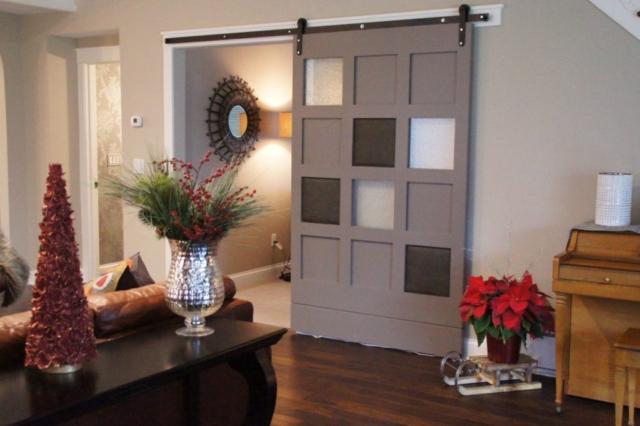 Hudson Full Home Remodel - Custom Barn Door (1)
