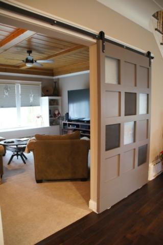 Hudson Full Home Remodel - Custom Barn Door (2)