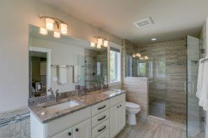 Woodbury MN home renovation master bathroom