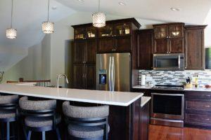 Woodbury MN split level home kitchen remodel
