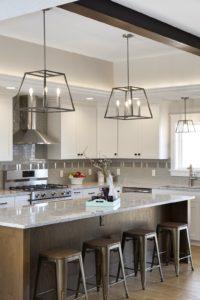Custom home built in Hudson WI kitchen