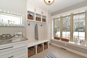 Oakdale MN custom mudroom cabinets