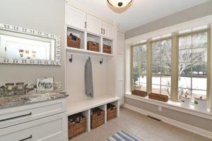 Oakdale MN custom mudroom cabinets