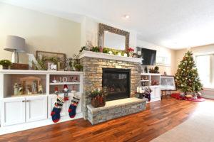 Oakdale MN custom fireplace built-in